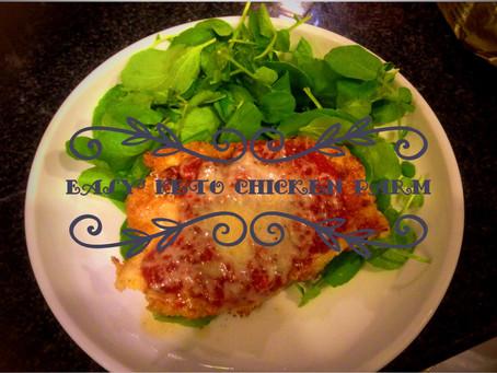 Easy Keto Chicken Parm