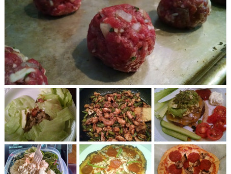 Keto Kickstarter Meal Prep Recipes