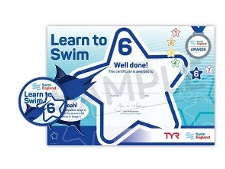 Swim England Stage 6