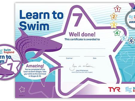 Swim England Stage 7