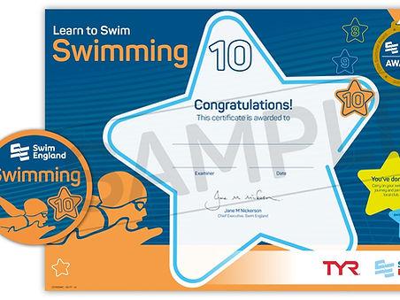 Swim England Stage 10