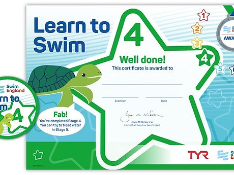 Swim England Stage 4