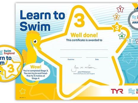 Swim England Stage 3
