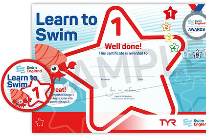 Swim England Stage 1