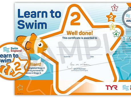 Swim England Stage 2