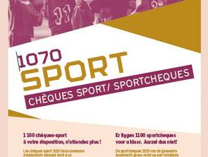 50 euros offerts pour s'inscrire dans un club sportif anderlechtois!