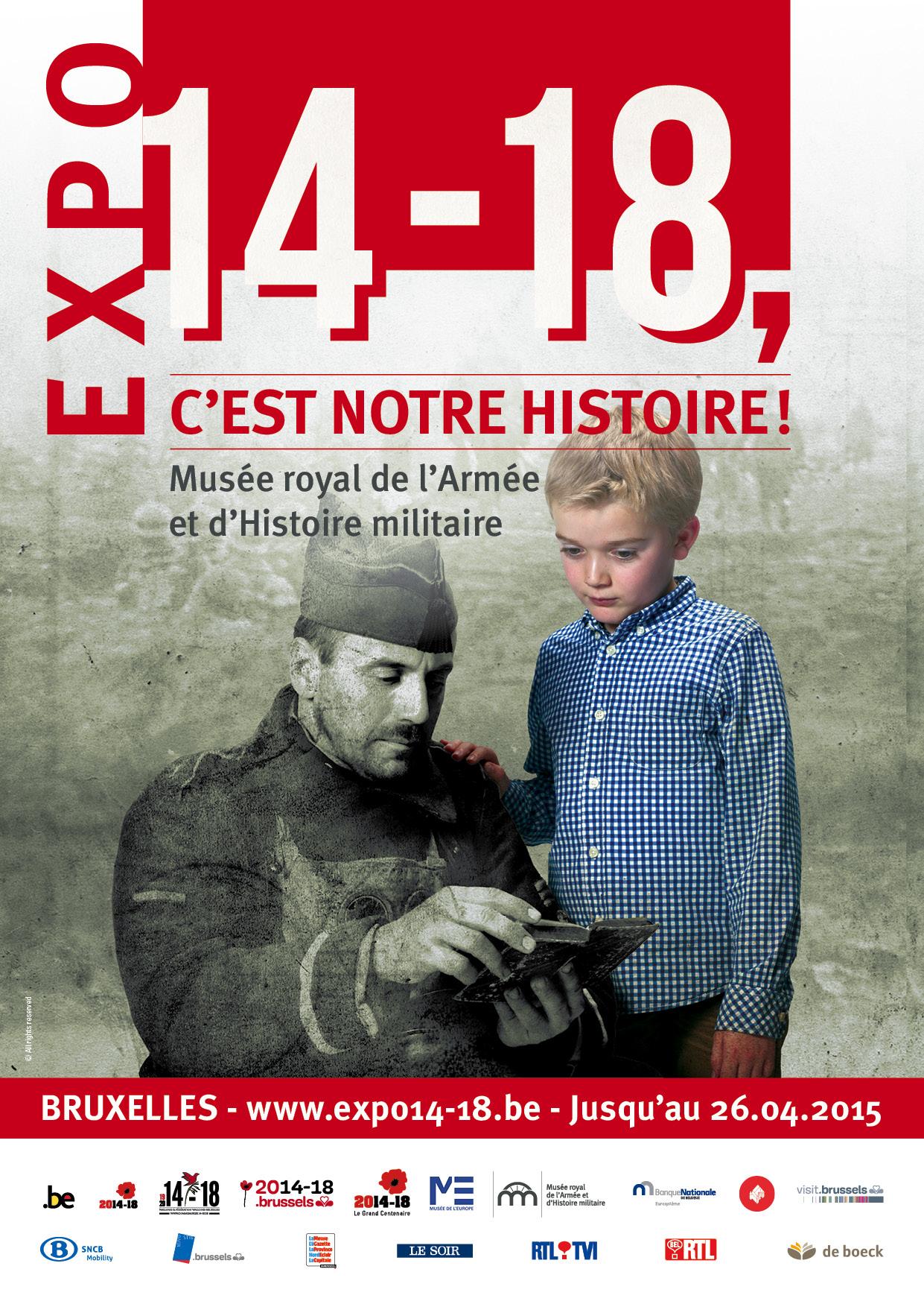 """Expo """"14-18, c'est notre Histoire !"""""""