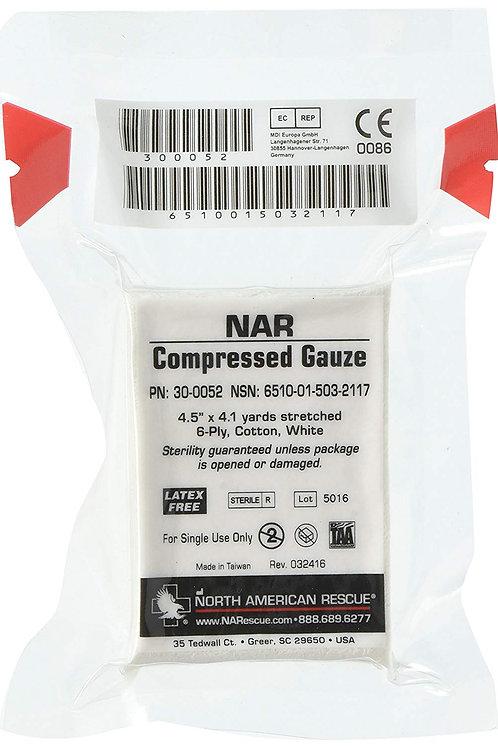 NAR Compressed Gauze