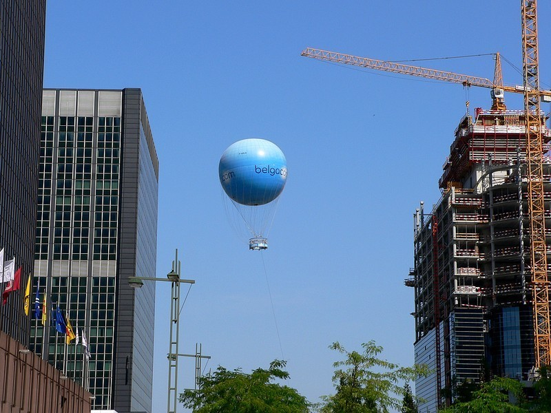 Ballon Belgacom