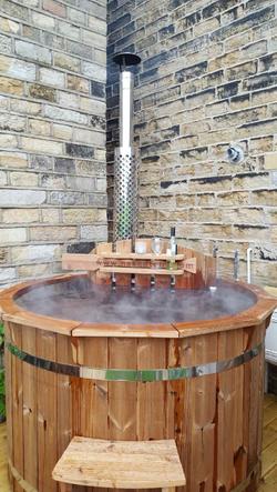 Naked Flame Hot Tub