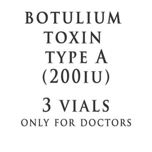 BTX Type A 200IU(3 Vials)