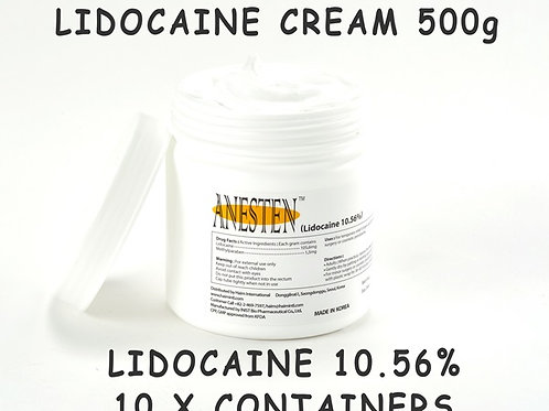 ANESTEN-10 Containers(2,500g)10.56% Numbing Cream