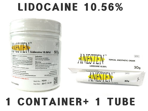 ANESTEN-1 Containers+1 tube(530g) 10.56% Numbing