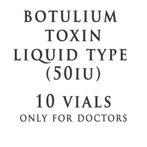 BTX LIQUID TYPE 50IU(10 Vials)