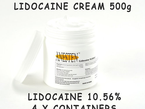 ANESTEN-4 Containers(2,000g)10.56% Numbing Cream