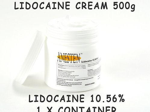 ANESTEN-1 Container(500g) 10.56% Numbing Cream