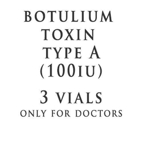 BTX Type A 100IU(3 Vials)