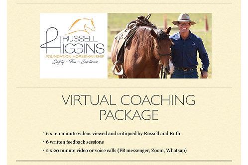 Virtual coaching package