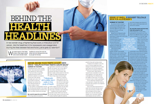 Woman & Home - Behind the Health Headlines