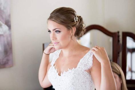 Stunning bride Claire