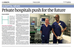 Private Hospitals Push for the Future