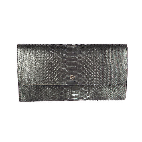 Vila Clutch Deep Sea Metallic