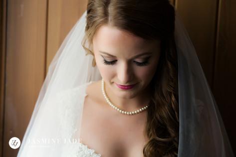 Bridal makeup by Kayleigh