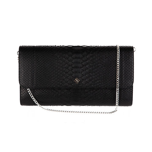 Vila Clutch Ebony Black