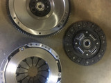 After: New transmission clutch kit and flywheel for a Toyota Corolla