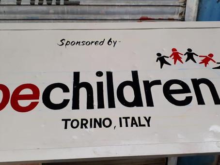 Children park by Associazione Bechildren Torino Italy.