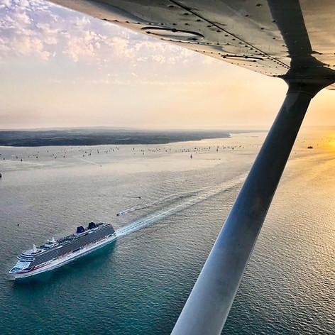 Evening departures