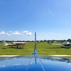 Parked up at Headcorn