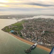 Dusk over Portsmouth