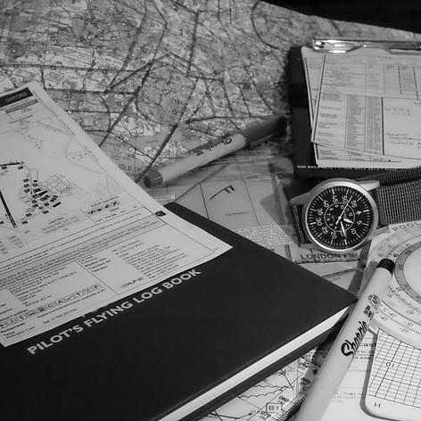 Flight planning and pilot gear
