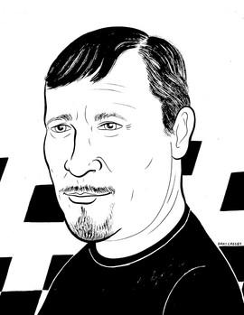 A portrait of Al Cole, 2020.