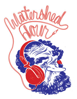 Watershed Hour t-shirt design 2013