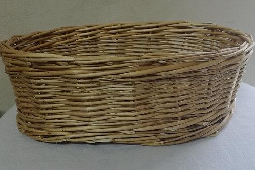 Corbeille à pain osier blanc