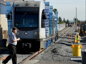 Gold Line passes track test; March 2016?