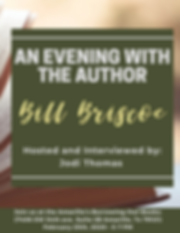 An Evening with the author - bill brisco