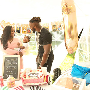 Nylah's First Birthday Party