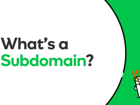 Definition - What does Subdomain mean?