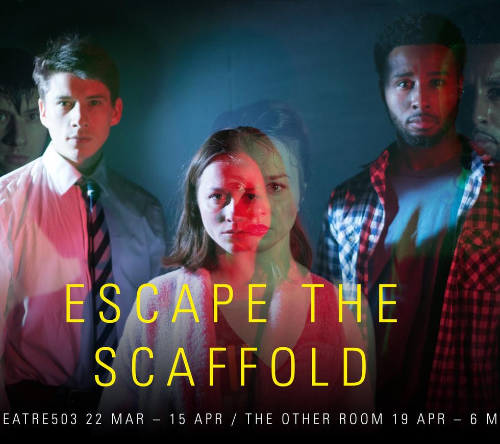 ESCAPE THE SCAFFOLD by Titas Halder