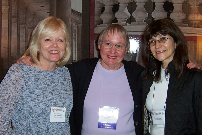 With Ruth McCarty & Carolyn Hart at Mali