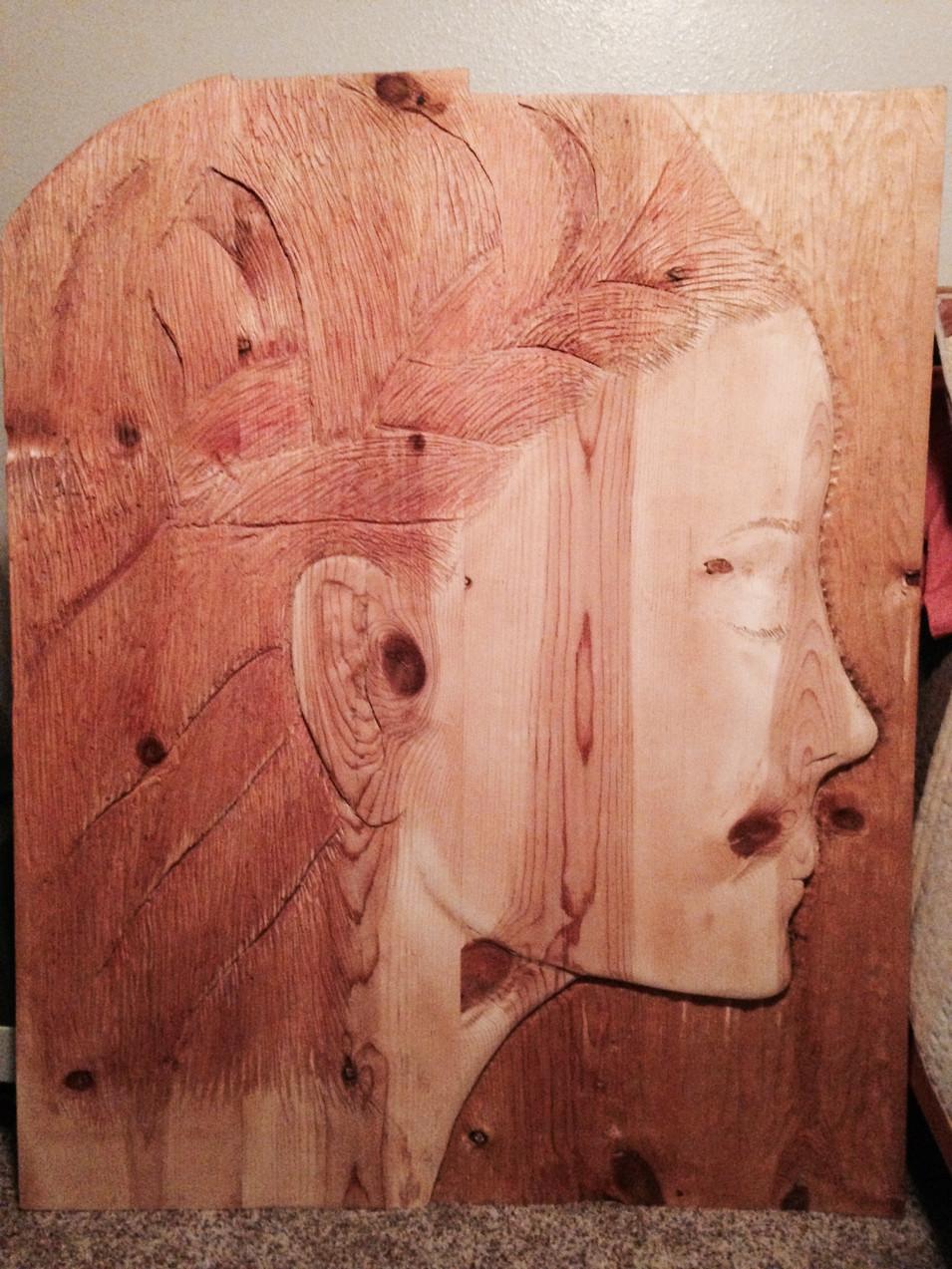 Carved Portrait