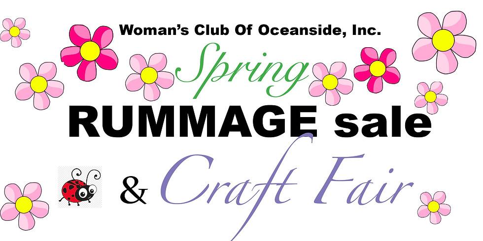 Spring Rummage Sale & Craft Fair