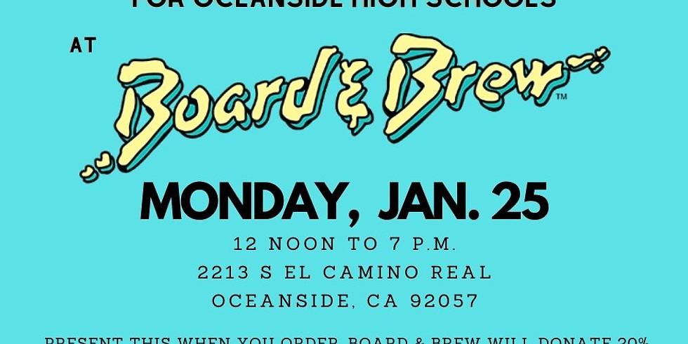 Restaurant Fundraiser at Board & Brew