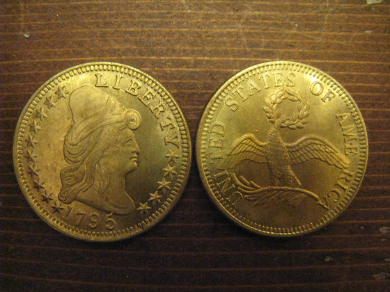 1795 Liberty Head $10 Gold Piece Replica