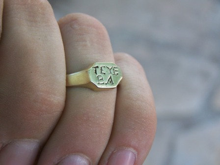 Whydah Shipwreck Ring