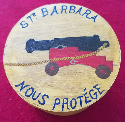 "Ditty Box ""Saint Barbara"""
