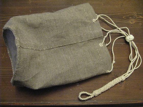 Handmade Sailor's Hemp Ditty Bag